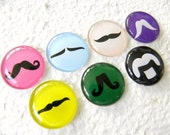 The 'Stache Mustaches Magnet or Push Pin Set 2