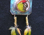 PARROT FEATHERS - RESERVED for KAREN