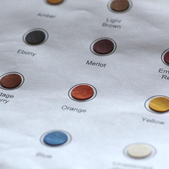 Color Sample Sheet