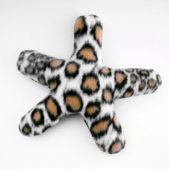 Starfish plush soft sculpture