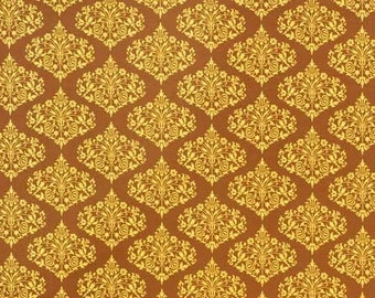 Amy Butler, Midwest Modern, Park Fountains, Brown 1 Yard