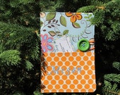 Custom Fabric Portfolio, Note Pad, Notebook