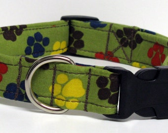 Four Paws Up Handmade Dog Collar ONLY Size LARGE AVAILABLE