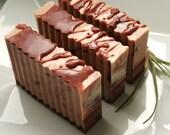 Steamed  Vanilla Soap Bar  (VEGAN Friendly)
