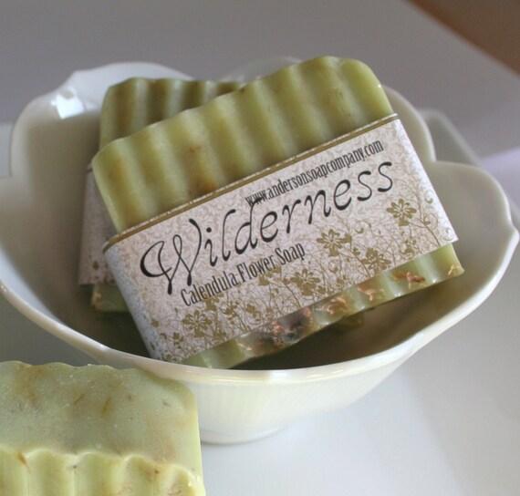 Calendula Wilderness Shea butter Soap Bar (Vegan)
