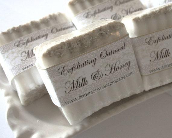Milk and Honey Oatmeal Soap Bar (Vegan)