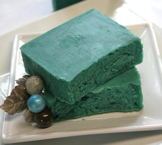 Chocolate Mint Olive oil Soap Bar (Vegan) (Palm Free)