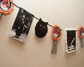 Halloween Banner Witch Alchemy Vintage-Inspired