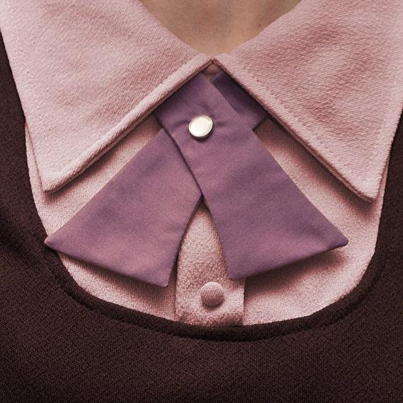 Womens Neck Tie - Purple