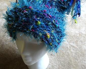 Confetti hat - Blue