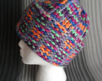 Cascade Mountains chunky knit beanie