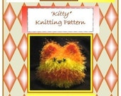 3 Bad Cats Kitty Knitting Pattern