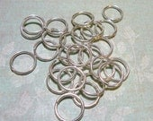 25 Silver 15mm Jump Rings