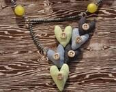 Urban Love Bib Necklace