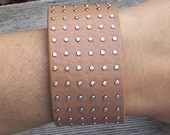 Studded Leather - Cuff