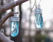 World War II Era Mason Jar Reclaimed and Recycled Earrings