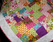 SUMMER SUNSHINE a  Happy Quilt 56 x 73 with Farmers Market