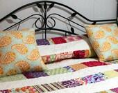 """Custom Order Queen size Bed Quilt  Comforter 80"""" x 100"""" DREAMCATCHER"""