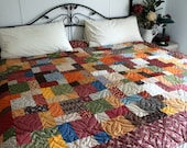 Twin/Double Bed Quilt Just a little bit Country