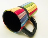 Travel Mug with Lid Eco Friendly Rainbow Roy G Biv