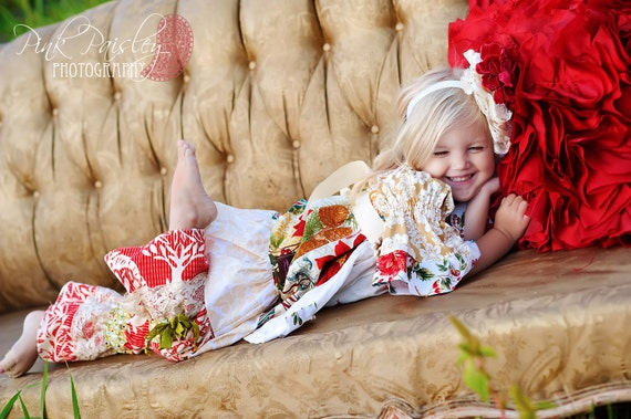 Vintage Holiday Velveteen Bloomers Pick Your Size 6 months to 4 years
