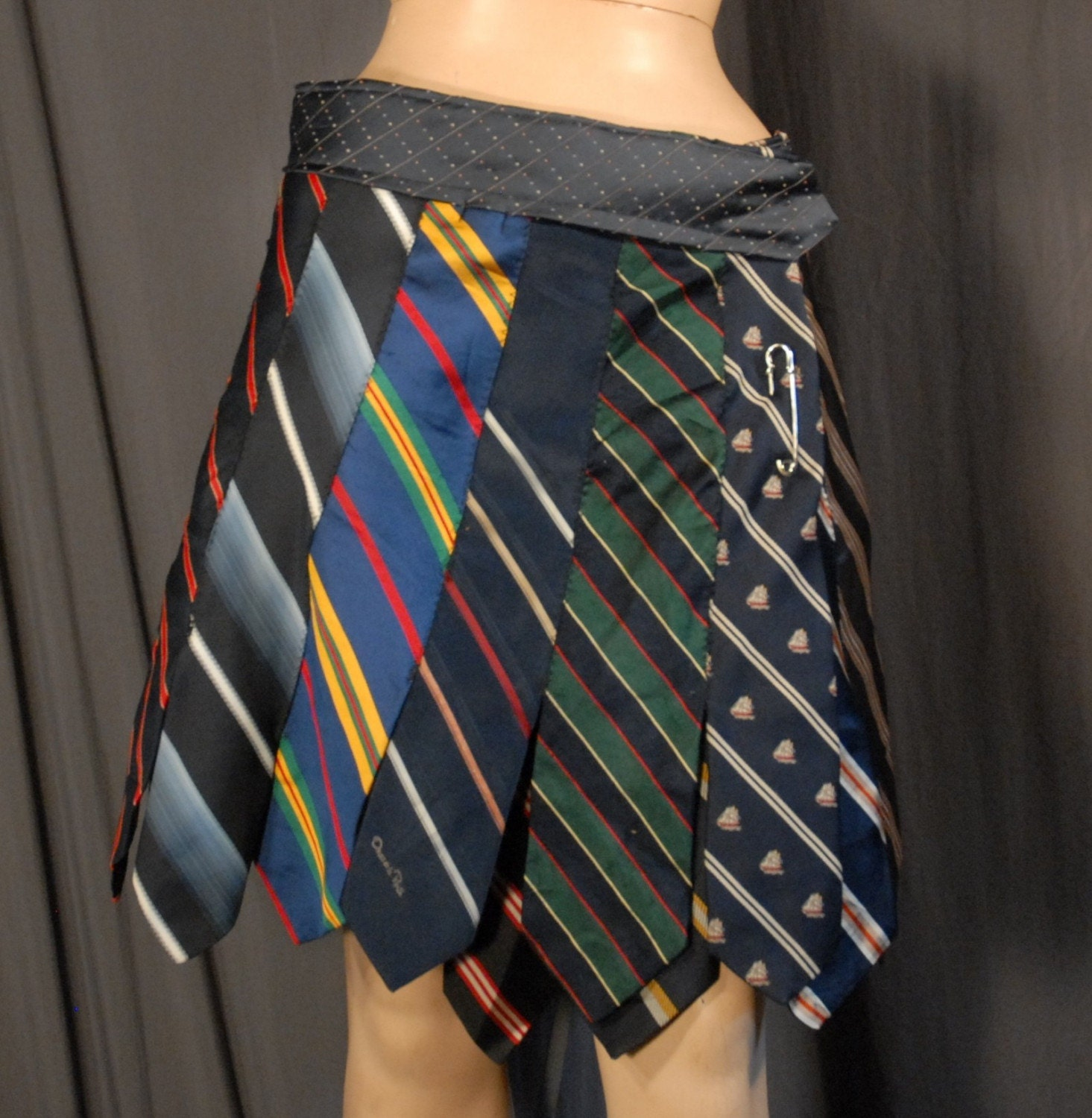Skirt Made From Ties 99