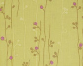 Last one Available - 1 yd of  Erin McMorris - Wildwood - Sprout in Lime