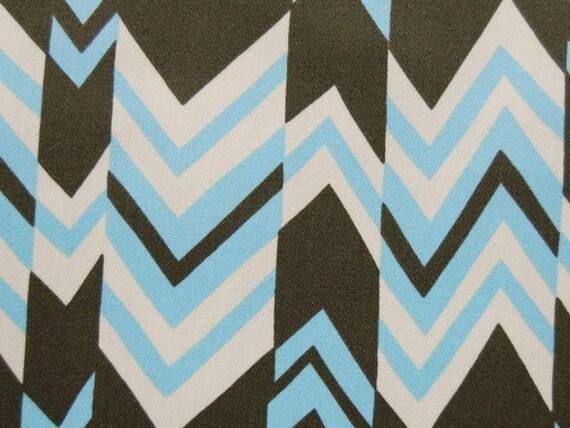 SALE - 1 Yard of Amy Butlers Nigella - Ritzy Stripe in Sky