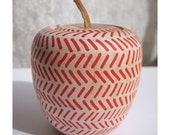 Teacher's Pet Wooden Apple Box