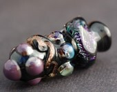 Handmade Glass Focal Lampwork Bead - Mystic Dreams by Melissa Vess SRA