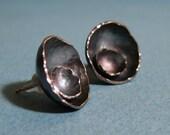 Poppy Studs Sterling Silver Earrings
