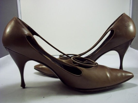 1950s Herbert Levine Stiletto Size 8 1/2