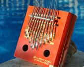 Cigar Box Kalimba - 11 TIne- C major Pentatonic