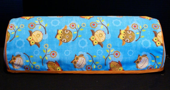 Cricut Expression Machine Cover Owls with Orange and Stripes