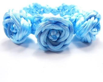 rose corsage bracelet - can be made with custom colors