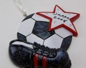 Custom Soccer Ornaments for Cindy