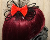 Red and Black PVC Tubey Crin Comb