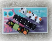 Set of three Halloween Clippies  (Free Shipping)
