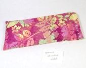Batik Rose Mint Eye Pillow