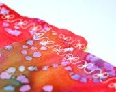 Disco Rainbow - Batik Cover For Herbal Eye Pillow