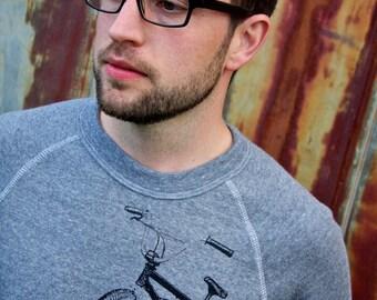 BMX Rider Pullover Sweatshirt