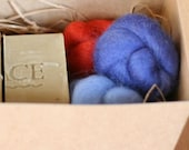 Felt Soap Kit - Pure Unscented Olive Oil Soap