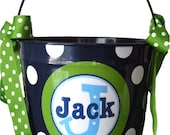 10 Quart Personalized Easter Pail Basket