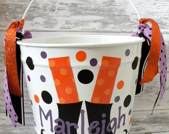 10 Quart Halloween Bucket