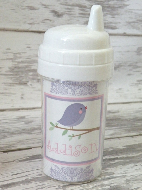 Personalized Toddler Spill Proof Sippy Cup