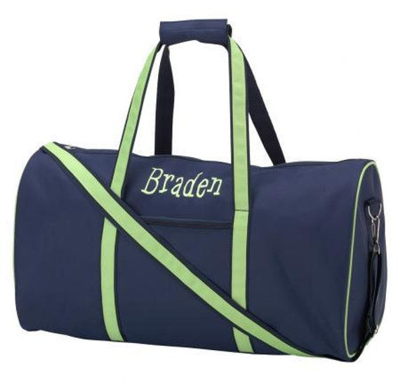 Monogrammed Duffle Bags - FREE SHIPPING