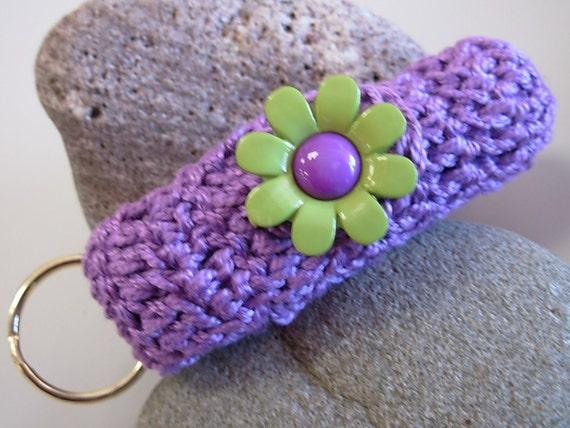 Crochet Pattern PDF Lip Balm Holder Cozy Pattern PDF Okay to Sell Finished Item