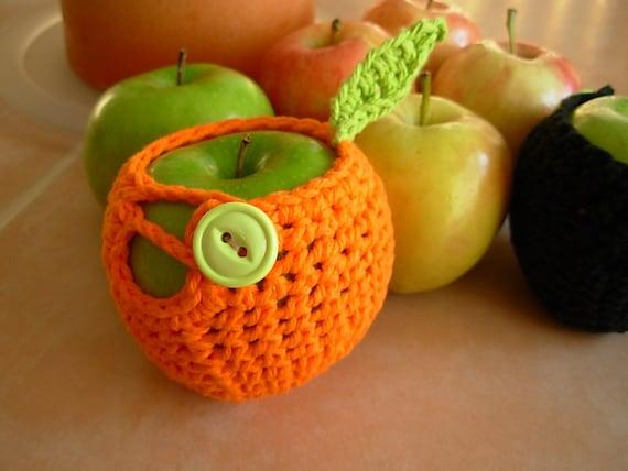 Crochet Pattern Apple Fruit Cozy Jacket Pattern PDF Okay to Sell Finished Item