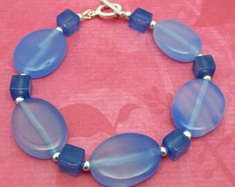 SALE 50% OFF- Bluest of Blue Bracelet