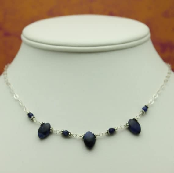 Simply Irresistible Sodalite Necklace